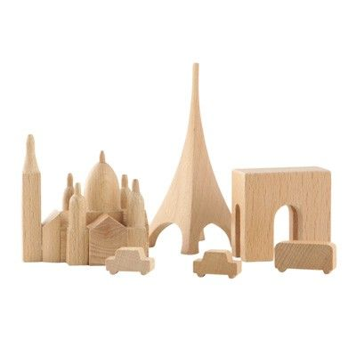 Muji, City in a Box range, Paris. Several other cities available, including a world heritage version.