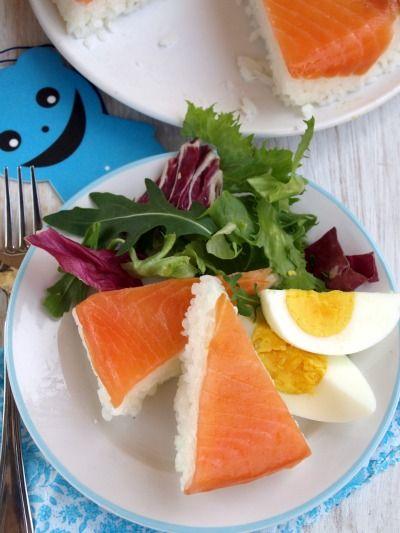#Piatto con #torta di #sushi @Come Guarnire I Piatti
