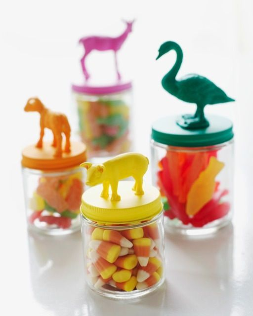 Animal Jars: Great recipes and more at http://www.sweetpaulmag.com !! @Sweet Paul Magazine