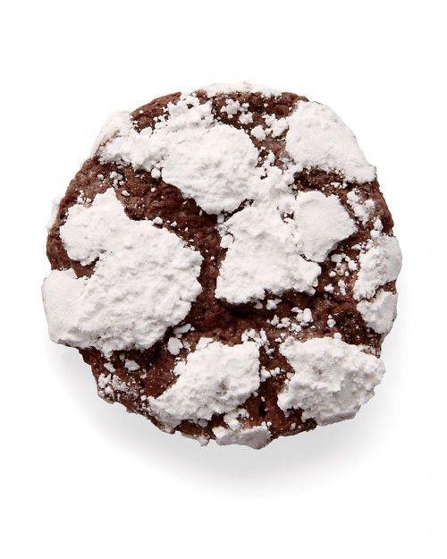 Chocolate-Mint Crackles Cookies Recipe