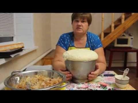 Пироги. Делаем пироги с капустой. - YouTube