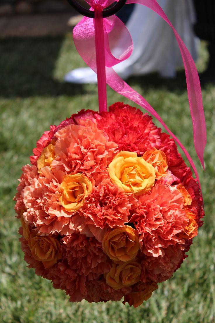 Orange Wedding Flowers Orange Wedding Flowers Pinterest