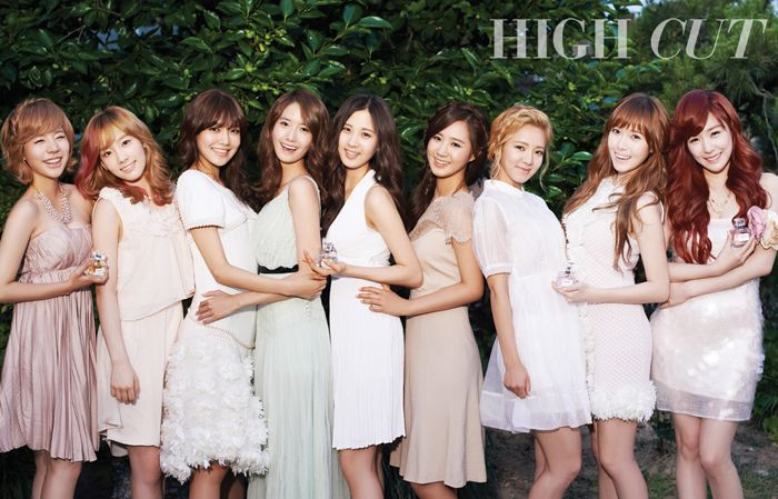 """Girls' Generation Become """"Fairies in the Woods"""" for High Cut Magazine"""