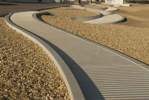 England Wave Promenade Design