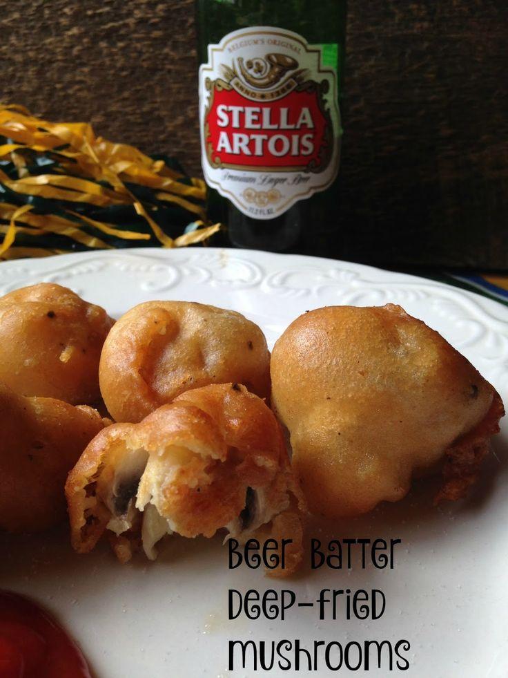 Turnips 2 Tangerines: Beer Battered Deep Fried Mushrooms