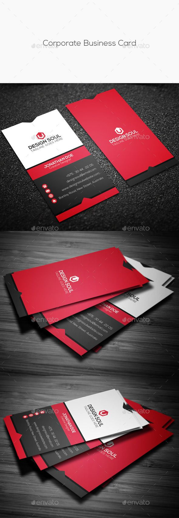 153 Best Business Cards Images On Pinterest Business Card Design