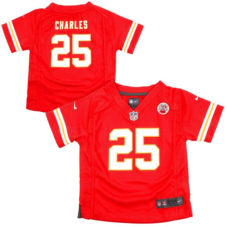 Jamaal Charles Kansas City Chiefs Nike Infant Team Color Game Jersey - Red - $44.99