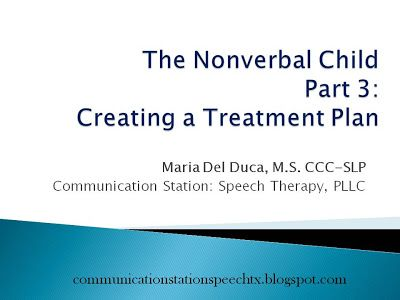 Communication Station: Speech Therapy PLLC: FREEBIE Friday: Goals and Objectives for Nonverbal PK children!