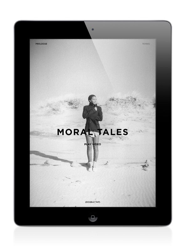 Letter to Jane Magazine: Moral Tales by Timothy Moore, via Behance
