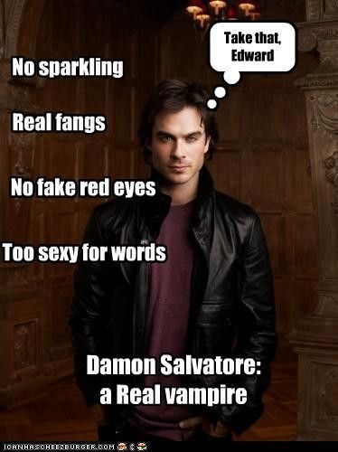 A real Vampire - Damon-Salvatore photo