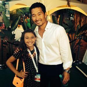 Daniel Dae Kim and Teilor Grubbs - Wiki Hawaii 5-0