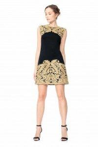 ARL15049SX Sukienka wieczorowa #eveningdress #minidress #blackdress