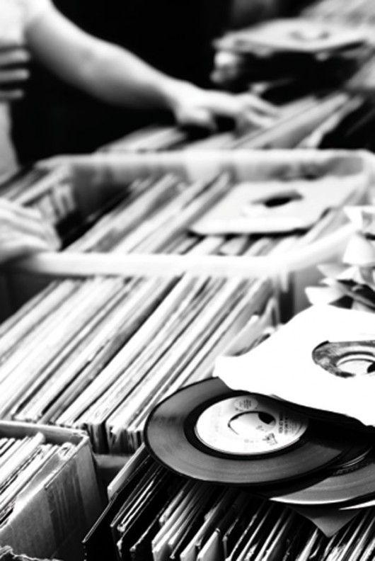 : Record Store, Music, Vinyls, Vinyl Records, 45S, Baby Boomer, 45 S