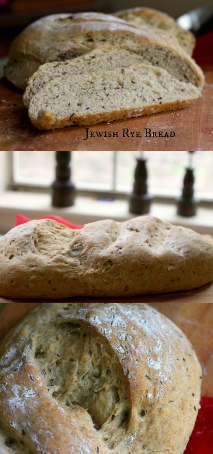 This Jewish rye bread has a shortcut to great flavor|restlesschipotle.com  Still working on the Bread A to Z challenge! #homemadebread #recipe
