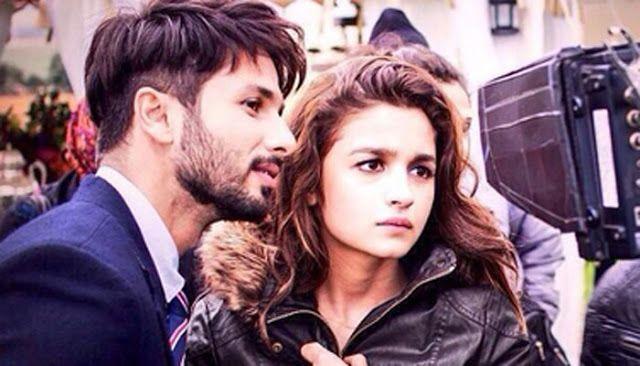 Alia Bhatt and Shahid Kapoor from Shaandaar