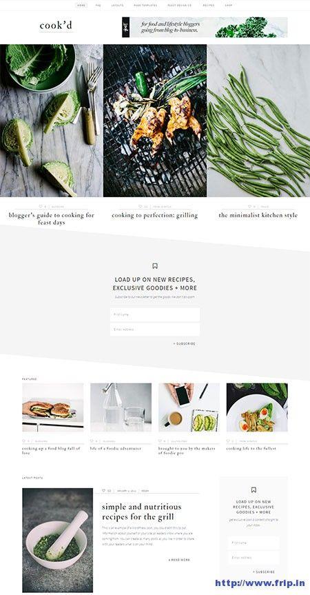 Cook'd Pro WordPress Theme By StudioPress Themes  http://www.frip.in/cookd-pro-wordpress-theme-studiopress-themes/