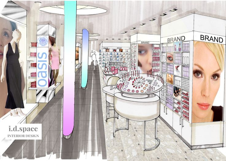 Department Store Visual By I.d.space Interior Design