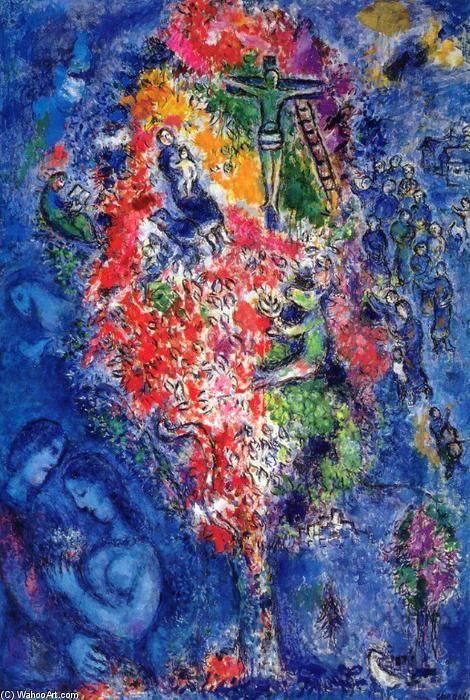 Tree of Jesse, Oil On Canvas by Marc Chagall (1887-1985, Belarus) ▓█▓▒░▒▓█▓▒░▒▓█▓▒░▒▓█▓ Gᴀʙʏ﹣Fᴇ́ᴇʀɪᴇ ﹕☞ http://www.alittlemarket.com/boutique/gaby_feerie-132444.html ══════════════════════ ♥ #bijouxcreatrice ☞ https://fr.pinterest.com/JeanfbJf/P00-les-bijoux-en-tableau/ ▓█▓▒░▒▓█▓▒░▒▓█▓▒░▒▓█▓
