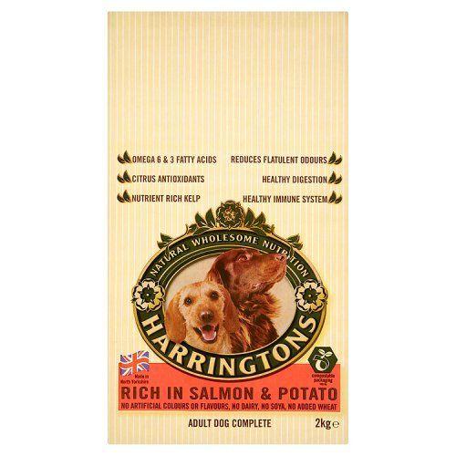 Harringtons Complete Adult Dog Salmon Potato 2kg 2000g Read More