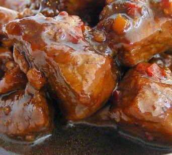 Indisch eten!: Babi ketjap: gestoofd varkensvlees in ketjapsaus