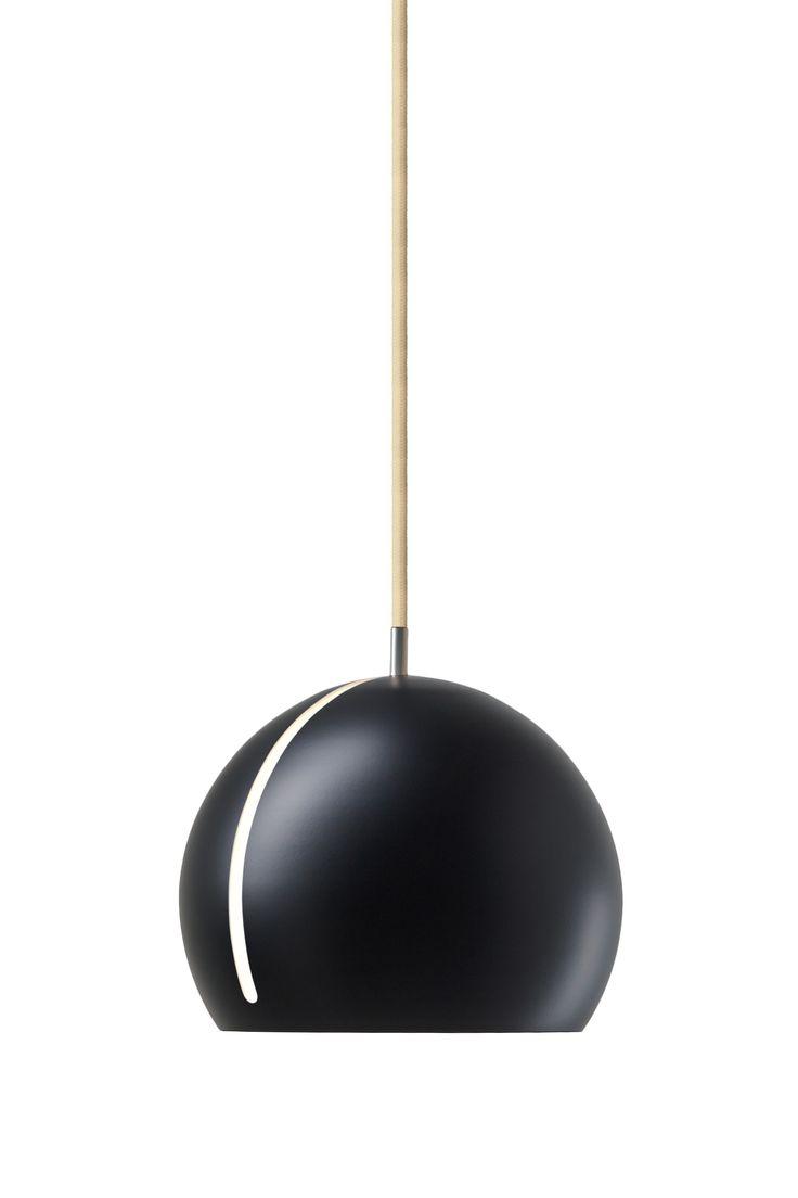Nyta »Tilt Globe« black, beige cord