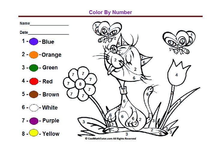 1017 Best Color By Number For Adults And Children Images