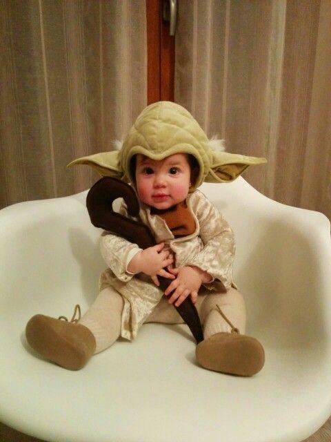 Stars Wars Yoda Baby Costume/ Disfraz Maestro Yoda Bebé