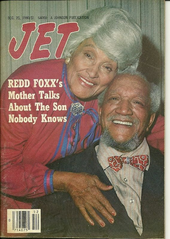 Jet Magazine Dec.25,1980 Redd foxx & His Mother