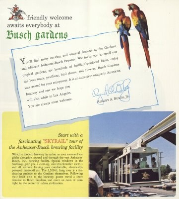 19 best busch gardens van nuys images on pinterest van nuys welcome to busch gardens van nuys california this undated add scream sound here brochure appears to be from the earlier days of the yelopaper Image collections