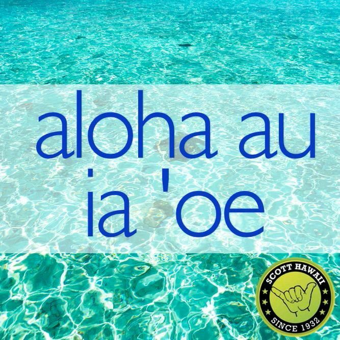 how to say i love you in hawaiian language