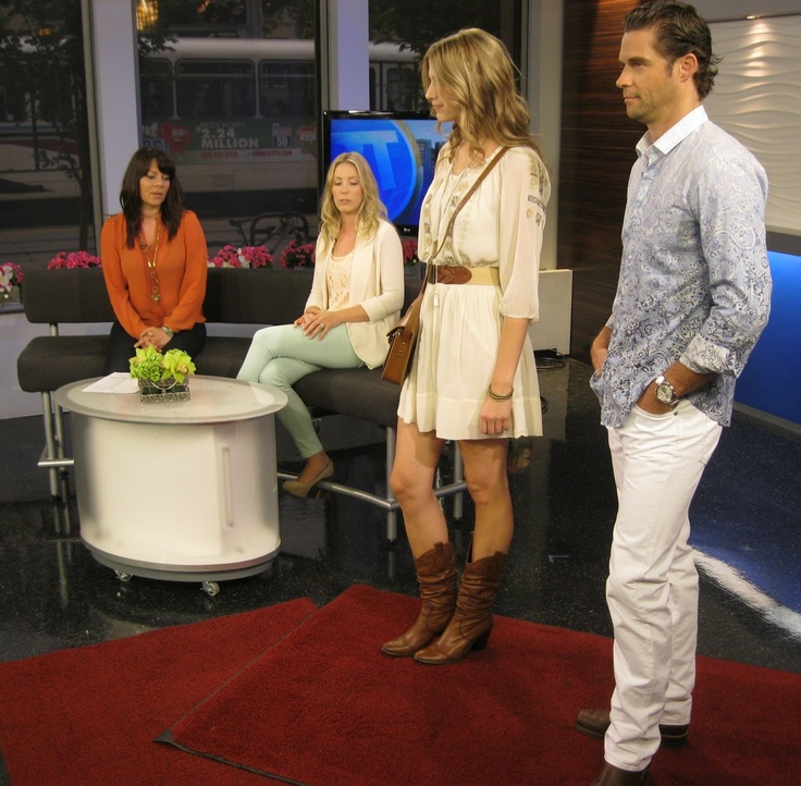 Styleista on Breakfast Television for Stampede Style