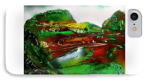 Forgotten IPhone 7 Case Printed with Fine Art spray painting image Forgotten by Nandor Molnar (When you visit the Shop, change the orientation, background color and image size as you wish)