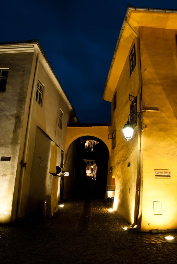 Sighisoara at night