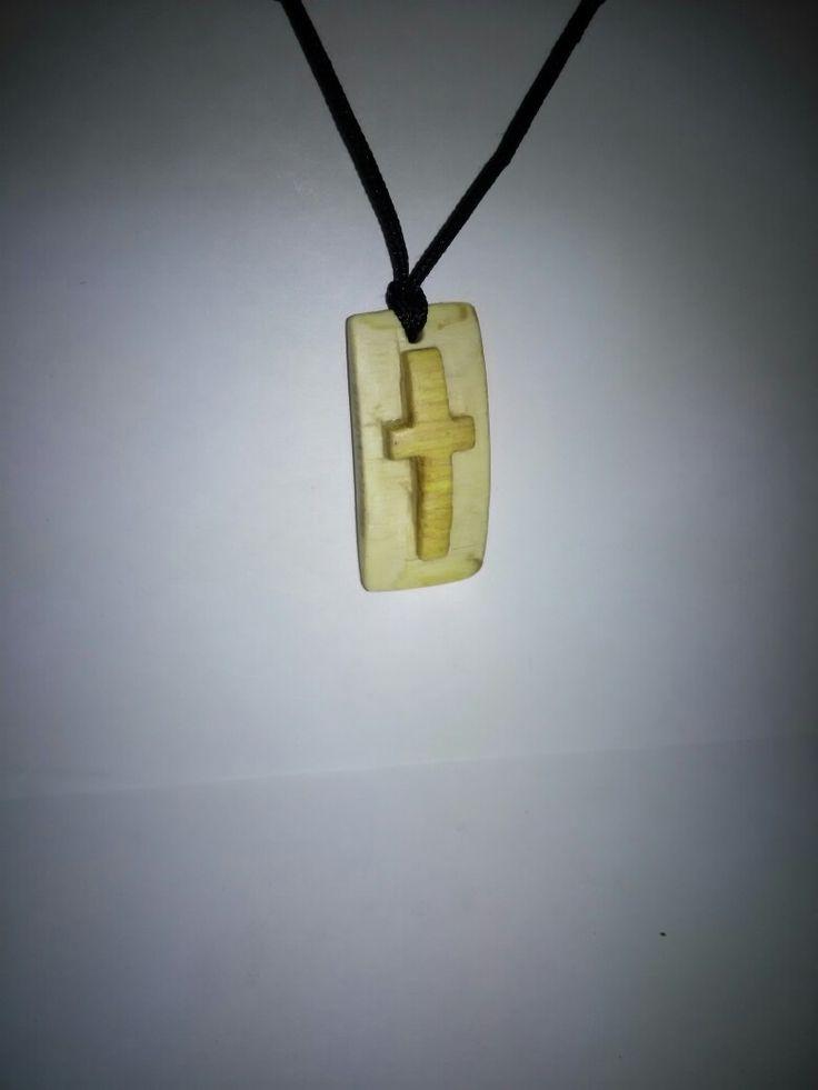 Cross , Wood , Handmade , Walnut , jewelry , Ξύλινος , Σταυρός , Λαιμού , Καρυδιά .