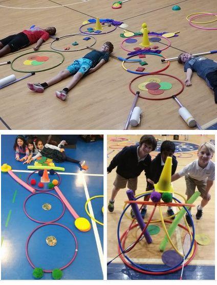 726242bb2b7b12676149bea84c1ac439  teamwork activities preschool activities - P E Games For Kindergarten