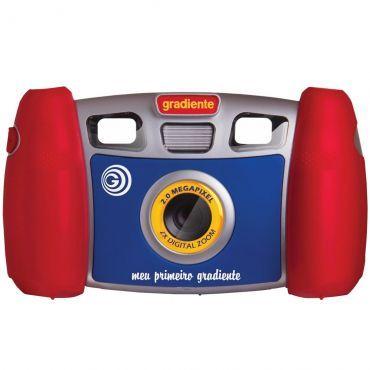 Câmera & Filmadora Infantil Meu primeiro Gradiente - Visor duplo binóculo, Tela LCD colorida, Flash, Zoom, Acabamento emborrachado resistente a quedas http://compre.vc/v2/5e6cd512 #PreçoBaixoAgora #MagazineJC79
