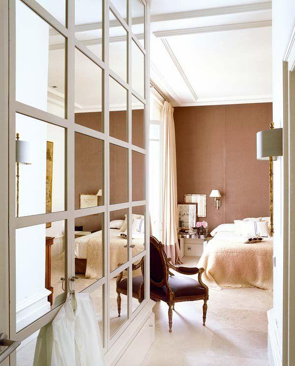 Las 25 mejores ideas sobre puertas de armario con espejos - Modelos de armarios ...