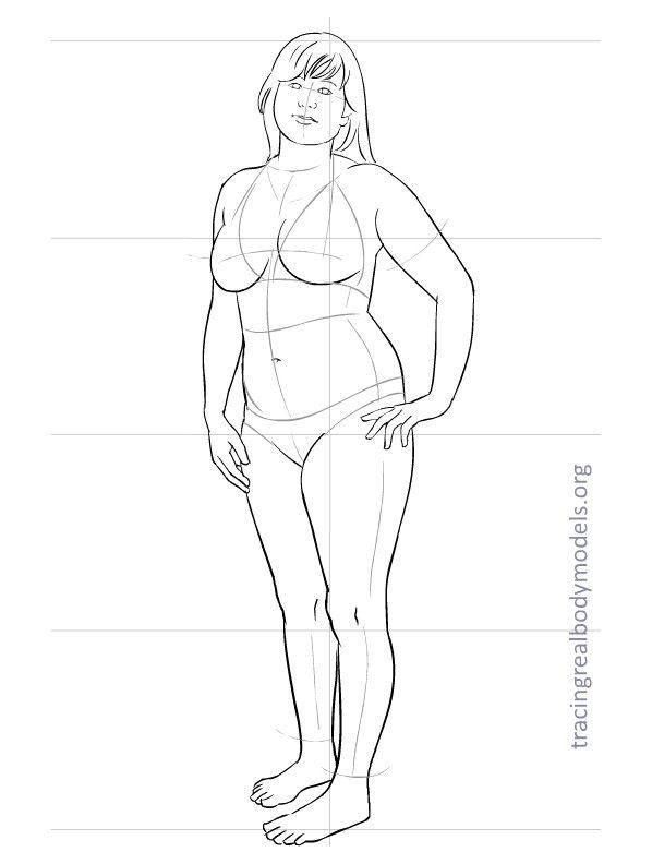 fashion-figure-template-0017.jpg 598×792 pixels | Fashion ...