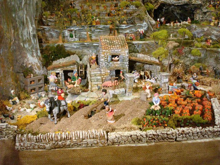 37 best cr ches et maisons proven ales images on pinterest doll houses dollhouses and daycares - Decor creche de noel provencal ...
