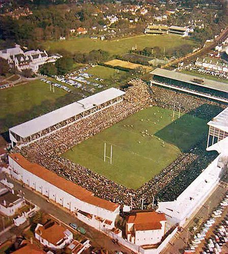Where we go to play! :)  Newlands Rugby Stadium Cape Town 1962