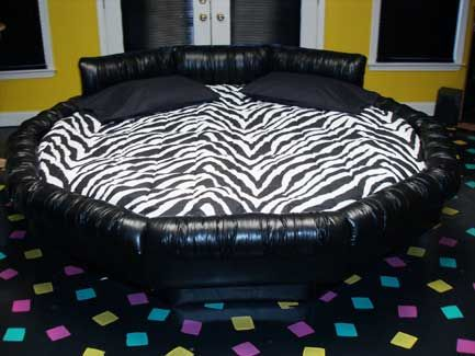 Round mattress 98 ultra waveless 20 mil waterbed - Cool beds for sale ...