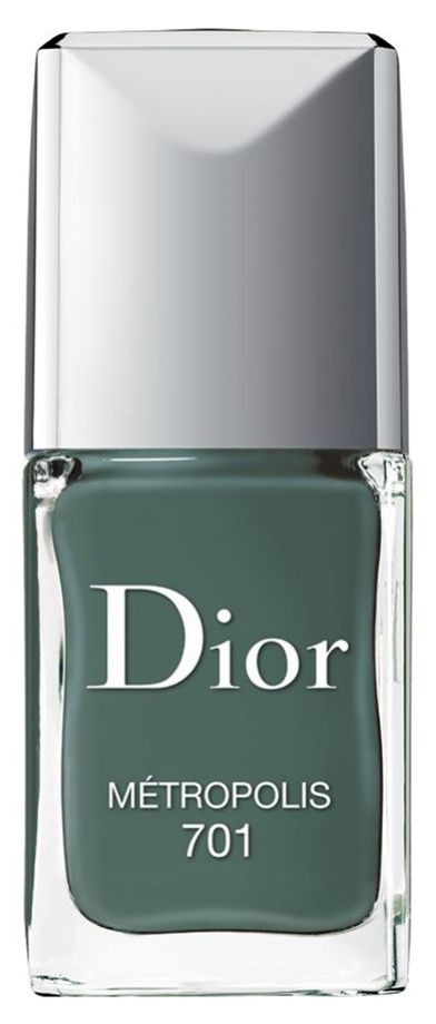 muted dark green nail polish #beauty #nails #manicure