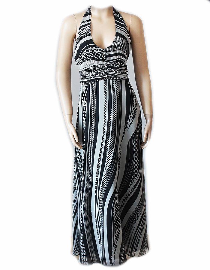 c3cca1a9db JASPER JEDWABNA Luksusowa Sukienka MAXI SILK 42 XL (7005068787) -  Allegro.pl - Więcej niż aukcje.