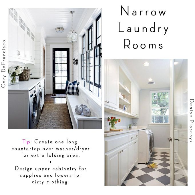 6 Tips For Designing A Laundry Room   Narrow Laundry Rooms Part 83