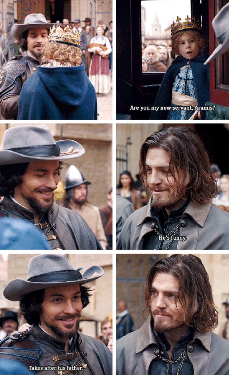 Athos, Aramis, and the Dauphin   BBC Musketeers   Season 3   We Are The Garrison   3x10