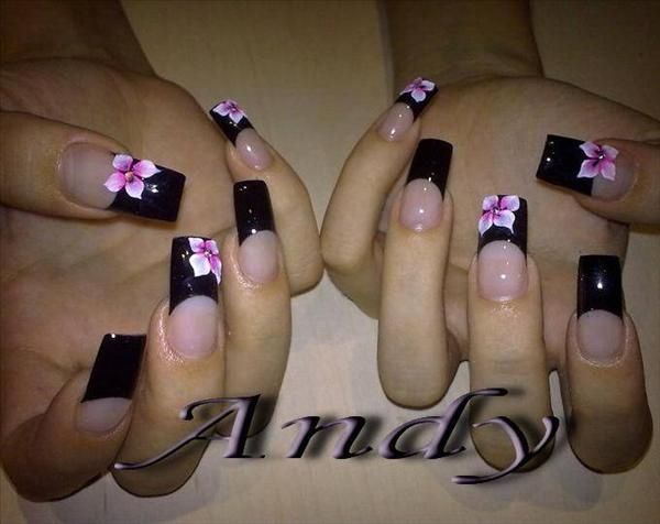 Image detail for -Cute Bow & Lace* 3D Acrylic Nail Art Design Tutorial - Nail Art ...