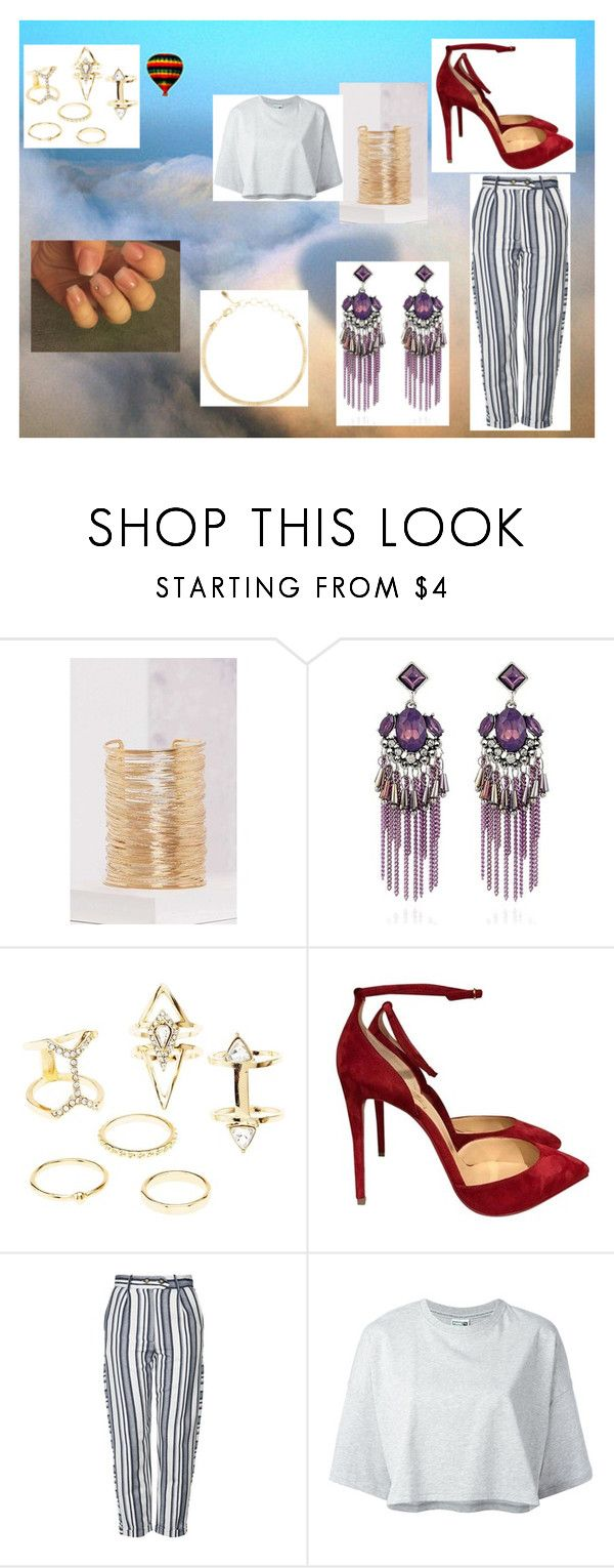 """""""far away"""" by maybejustonetear ❤ liked on Polyvore featuring Charlotte Russe, Topshop, Puma and Amrita Singh"""