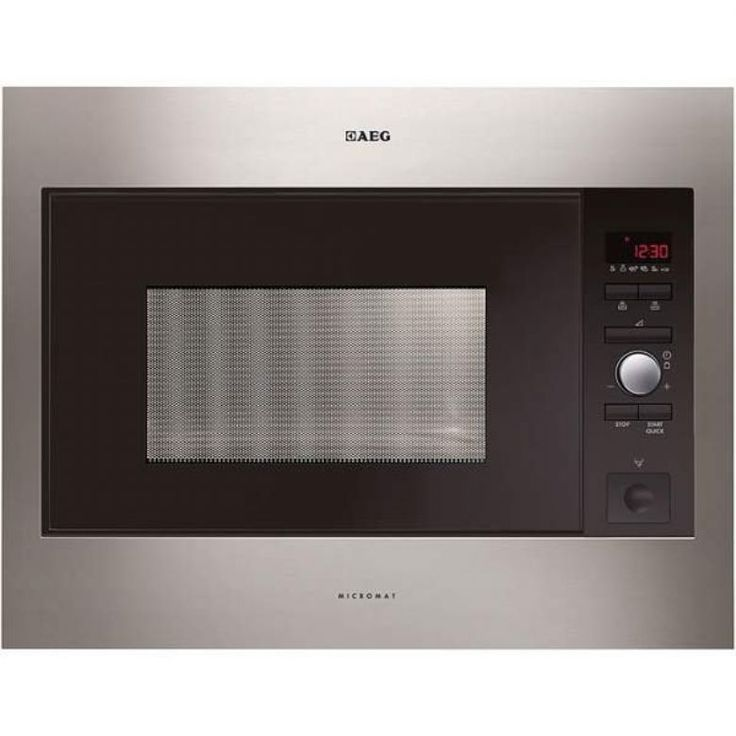 £249.99 MC2664EM 900W Built in 60cm Microwave in Stainless Steel
