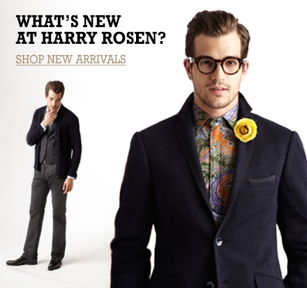 Harry Rosen for Designer Fashion & Mens Suits