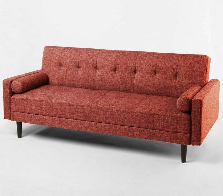 Modern Sleeper Sofa Bed Mid Century Convertible Couch